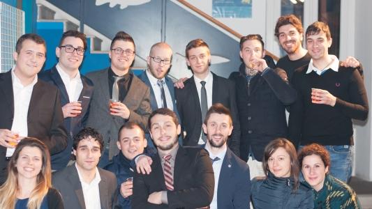 I ragazzi del Comitato dell'Officina delle Idee (© Vittoria Metelli)
