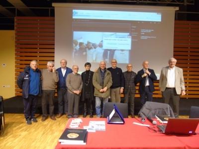 Foto di gruppo della serata (Foto Giuseppe Morandi)