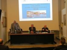 Da sinistra: Francesco Biasetti Vice Presidente di IPA Brescia, il Sindaco di Iseo Riccardo Venchiarutti e Roberto Novelli Comandante della Polizia Locale di Brescia
