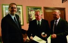 Piantoni riceve il premio della Camera di Commercio