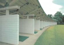 Simulazione del campo scuola golf al Santellone